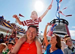 Crucero Disney a bordo