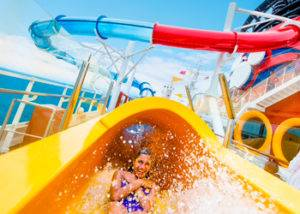 piscinas crucero Disney Magic