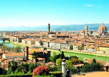 viaje en crucero a Florencia Italia