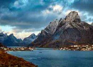 Trondheim leknes crucero