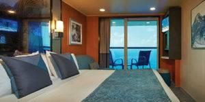 crucero camarote con balcón