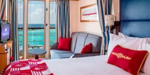 Crucero Disney Magic camarote con balcón