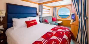 Camarote crucero Disney magic vistas al mar