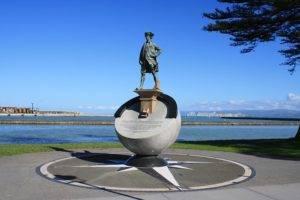 estatua de Cook