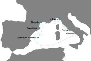 Crucero por le Mediterraneo Verano