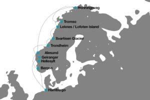 El mejor precio crucero por los Fiordos Noruegos