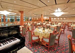 restaurantes y gastronomía en crucero costa