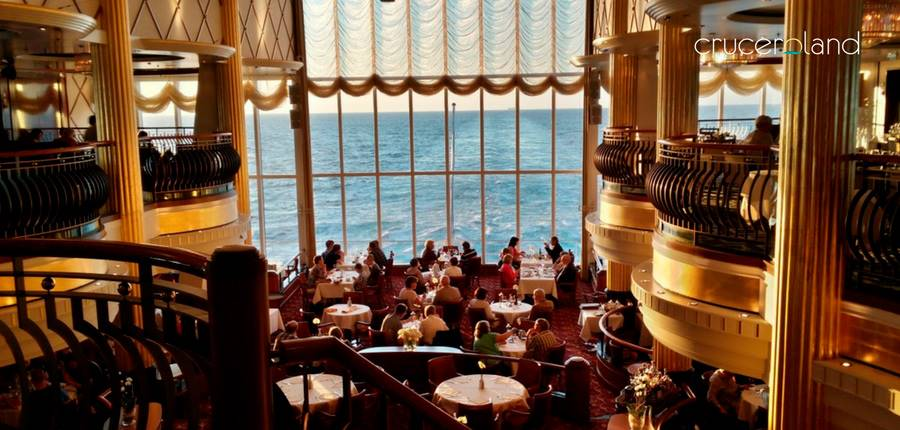 Servios y restaurantes a bordo de los crucero