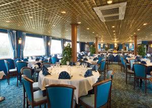 Comedor Restaurante crucero HS Monet
