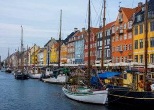 Copenhague visita la ciudad en crucero