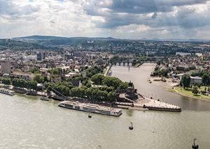 Crucero fluvial Rin, Coblenza
