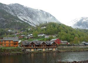 Crucero Noruega fiordo Eidfjord