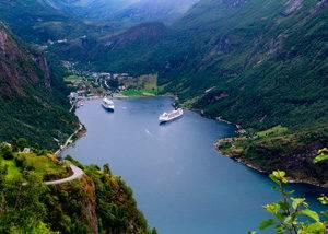 Crucero Noruega Geiranger