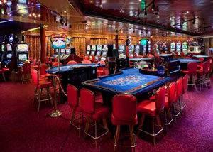 Casino, entretenimiento nocturno crucero MS Rotterdam
