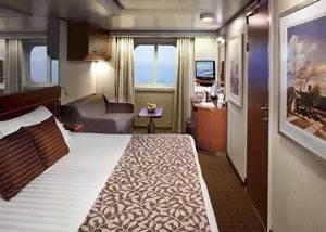 Crucero camarote vistas al mar