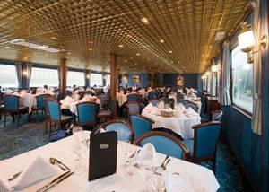 Comedor y Restaurante crucero MS Van Gogh