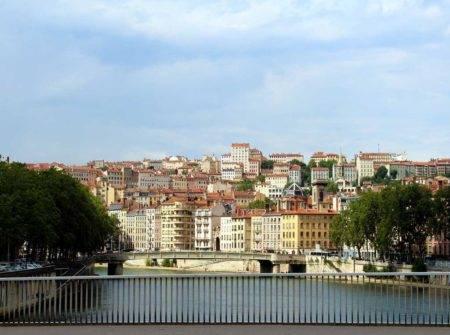 Crucero fluvial por el Saona y Ródano, Lyon