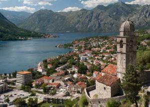 Crucero por los Balcanes Kotor Montenegro