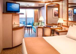 Crucero camarote mini suite crown princess