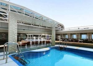 Crucero caribe piscina barco