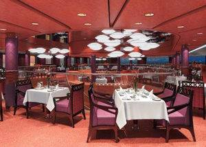 Restaurante cine crucero Nieuw Amsterdam