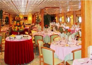 Restaurante crucero fluvial