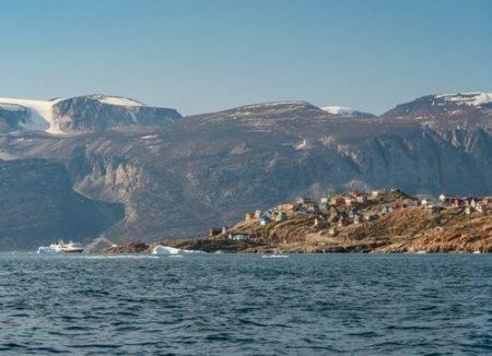 vistas de Groenlandia