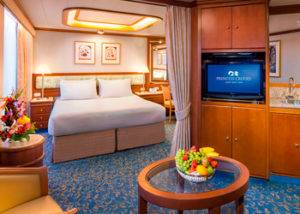 Camarote suite diamond princess