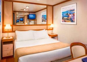 Crucero camarote interior diamond princess