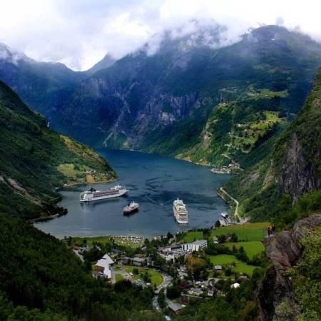 Crucero por fiordos Noruega desde Rotterdam
