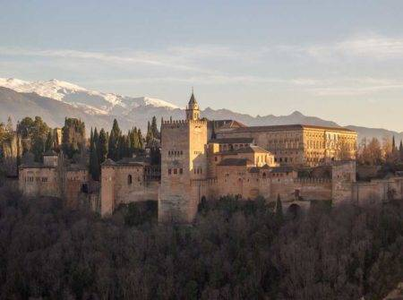 Crucero fluvial por Andalucía, Alhambra