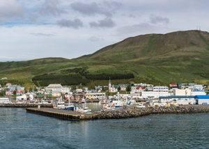 Crucero elfos Husavik, Islandia