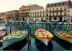Crucero Mediterraneo por Sete, Francia
