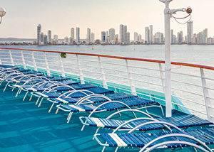 Solarium Crucero Antillas Pullmantur