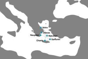 Itinerario Islas Griegas crucero
