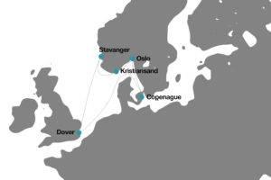 itinerario crucero disney Norte de Europa