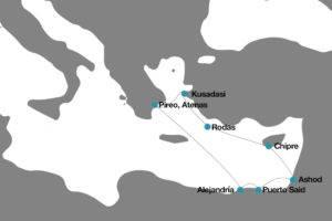 Itinerario por Grecia Egipto Turquía y Chipre