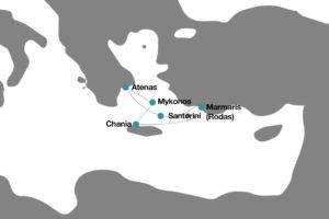 Crucero por las islas griegas pullmantur