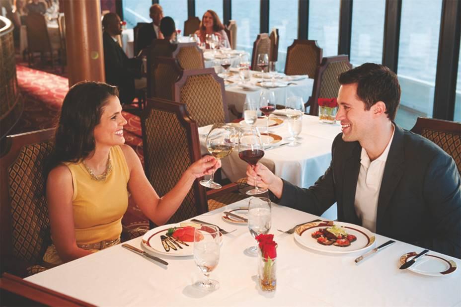Restaurantes gastronomía Cruceros Disney