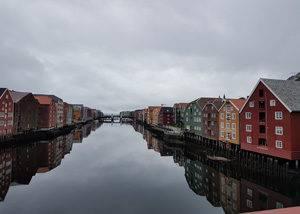 Viaje en crucero por Noruega, Trondheim