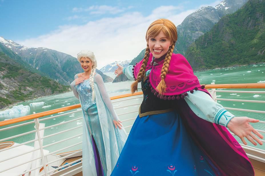 Frozen nueva actividad cruceros Disney