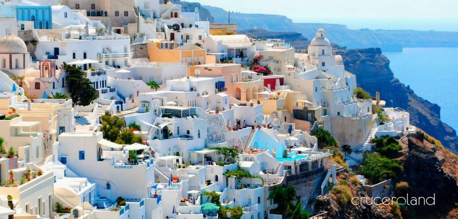 Grecia mejor destino para viaje de novios en crucero