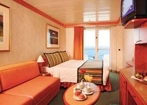 Camarote con balcón crucero Costa Mediterranea