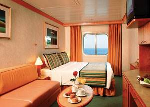 Camarote ventana crucero Costa Mediterranea