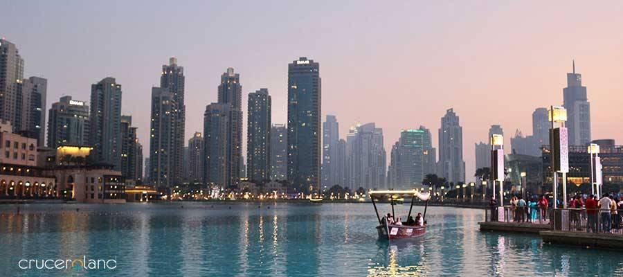 Crucero lujo Dubai, Emiratos Árabes
