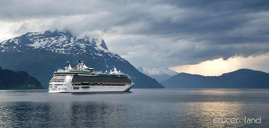 Viaje en crucero por los fiordos noruegos