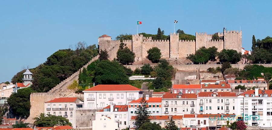 castillo de san Jorge visita lisboa con niños
