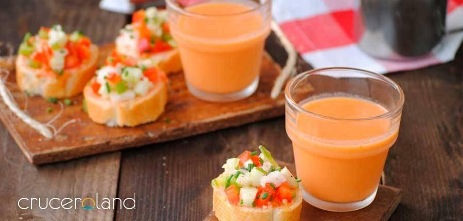 La mejor receta gazpacho andaluz sano