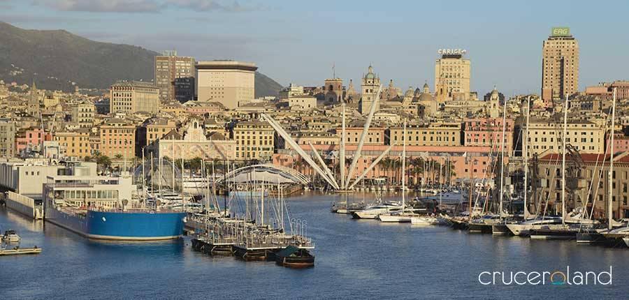 Crucero Mediterráneo por Génova