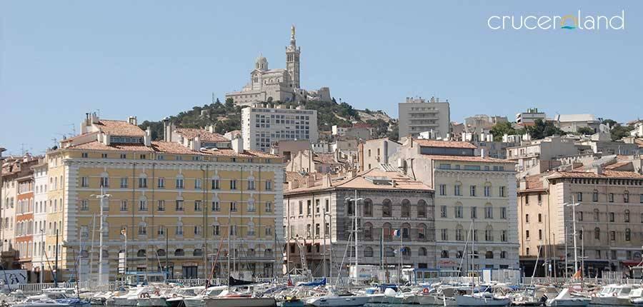 Mini crucero por el Mediterraneo en Marsella